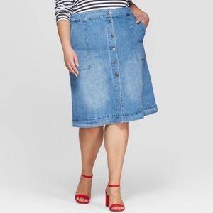 Ava & Viv Denim Skirt